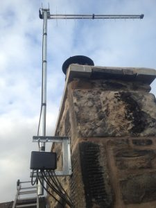 aerial installation kirkby lonsdale