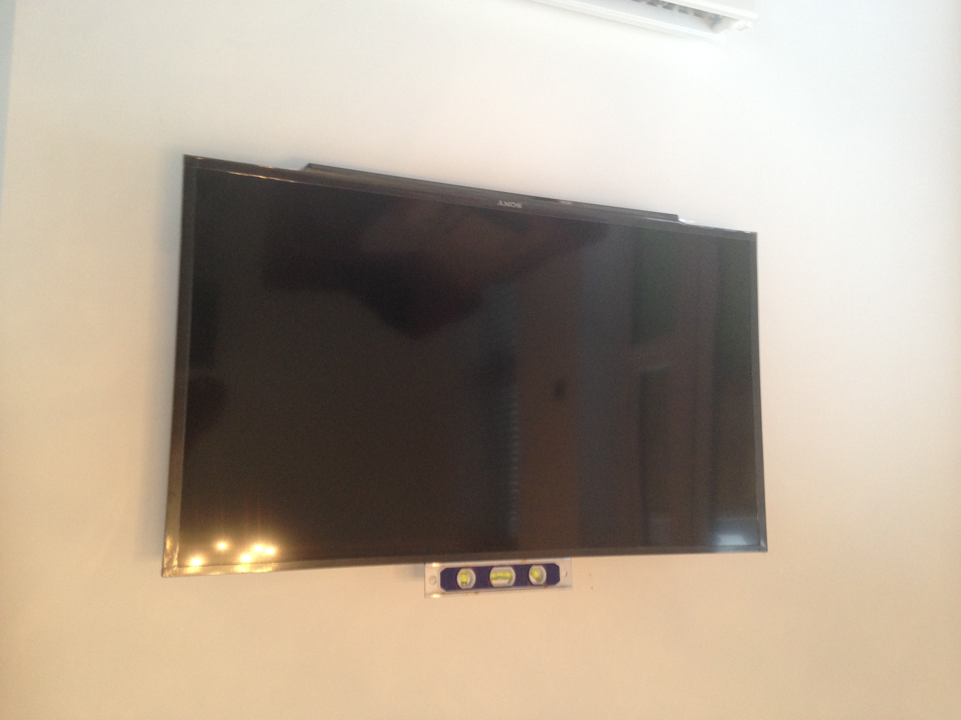 Not just TV Aerial Installation, we do TV Wall Mounts too.